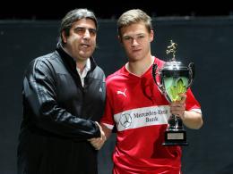 Kimmich loste den JuniorCup: Fünf Bundesligisten, zwei Premieren