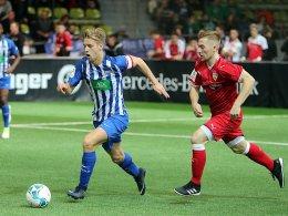JuniorCup: Hertha schon weiter