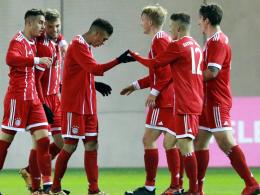 Bayern-Junioren im Achtelfinale gegen Real Madrid