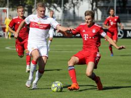 VfB-Junioren schlagen Bayern - S04 unterliegt Leipzig