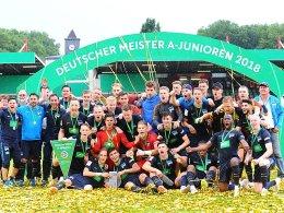 U-19-Meister Hertha startet in Wolfsburg