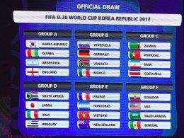 U-20-WM: Der Spielplan