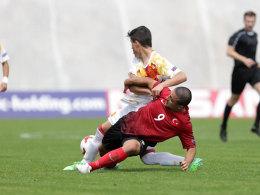 Türkei verspielt 2:0 - Ungarn überrascht Frankreich