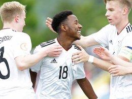 3:1! Deutsche U 17 gewinnt auch gegen Serbien