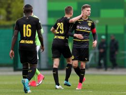 Finale in Sicht: BVB dank Burnics Doppelpack auf Kurs