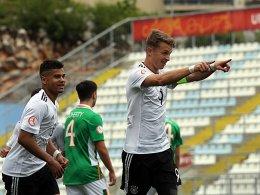 7:0! Deutsche U 17 deklassiert Irland