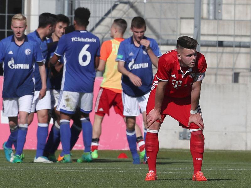 Bayern Münchens Junioren im Finale gegen Dortmund