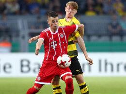 Kracher im Junioren-Pokal: Bayern gegen BVB!