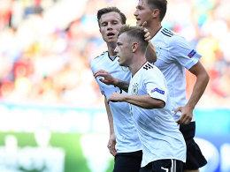 Meyer und Gnabry bringen Deutschland auf Kurs