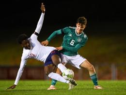 U 17 verpasst auch gegen England den Sieg