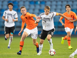 0:1 gegen die Niederlande: U 19 belohnt sich nicht