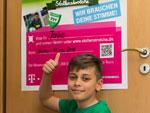 Stollenstrolch im Mai: Jonas (TSV Cossebaude)
