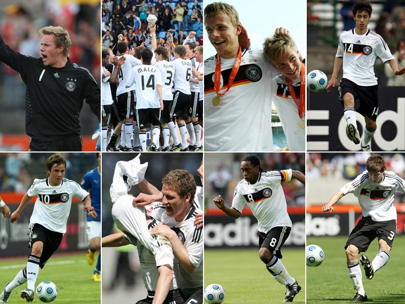 Die U-17-Europameister von 2009