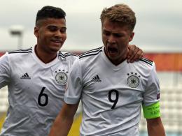 3:1 gegen Guinea: Deutsche U 17 im WM-Achtelfinale!