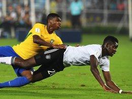 Bitteres Aus: U 17 scheitert mit 1:2 an Brasilien