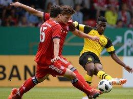 Doppel-Rot, fünf Tore: BVB ist U-17-Meister!