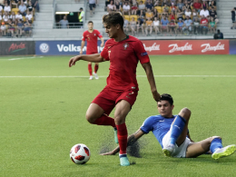 Portugal Europameister: Klein-Ronaldo schlägt Klein-Balotelli