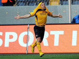 Dynamo Dresden muss zum Rückrundenauftakt auf Gerrit Müller verzichten.