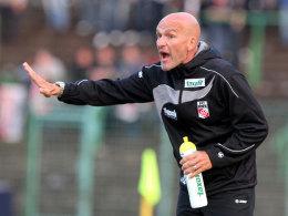 Warnt seine Stammkräfte: Erfurt-Coach Stefan Emmerling.