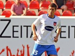 Muss erst einmal zuschauen: Florian Krebs vom 1. FC Heidenheim.