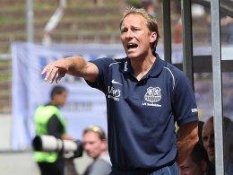 Zufrieden in die Spielpause: FCS-Coach Jürgen Luginger.