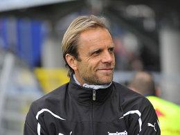 Lag mit seiner Umstellung gegen Heidenheim genau richtig: Aalens Trainer Rainer Scharinger.