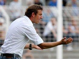 Sieht seinen Kader stärker und gefestigter als vergangene Saison: Regensburgs Trainer Markus Weinzierl.