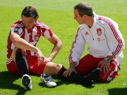 16 Minuten zum Vergessen: Daniel van Buytens Drittligadebüt endete schmerzhaft.