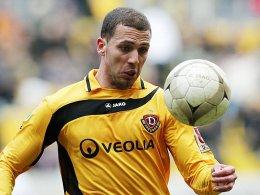 Neuer Klub, Tor erzielt, schwer verletzt: Dresdens Dani Schahin hat eine intensive Woche hinter sich.