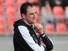 Richtet nach der Niederlage gegen Stuttgart wieder den Blick nach vorne: Frank Schmidt.