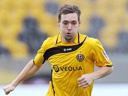 Erzielte die Führung für Dynamo Dresden: Maik Kegel.
