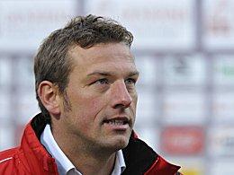 Am Samstag zur Untätigkeit verdammt: Regensburgs Trainer Markus Weinzierl.