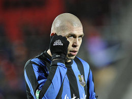 Enttäuscht: Velimir Grgic wird wegen seines Innenbandanrisses längere Zeit ausfallen.