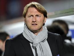 Abstiegsplatz: Aalens Trainer Ralph Hasenhüttl muss gegen Dresden punkten.