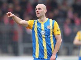 Es geht nach vorne: Damir Vrancic wird mit dem Spitzenreiter Braunschweig vielleicht bald in der 2. Liga spielen.