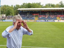 Auf der Suche nach einem neuen Investor: Geschäftsführer Wolfgang Loos vom TuS Koblenz ist unter Zeitdruck.