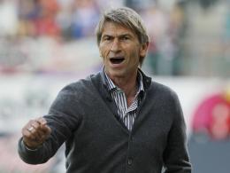 Auch in der nächsten Saison Trainer der SpVgg Unterhaching: Klaus Augenthaler.