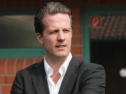 Personalplanungen vorerst abgeschlossen: Preußens Sportdirektor Carsten Gockel.