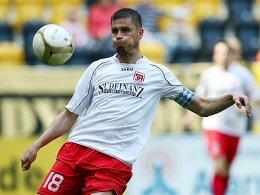 Vor der Rückkehr? Beim FC Carl Zeiss Jena denkt man über eine Verpflichtung des Regensburgers Alexander Maul nach.