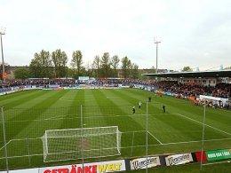 Das alt-ehrwürdige Stadion an der Gellerstraße in Chemnitz soll umgebaut werden.