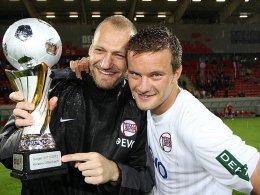 Markus Husterer (re.) und Robert Wulnikowski