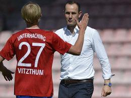Abschied von der SpVgg: Trainer Heiko Herrlich.