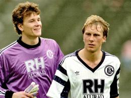 Jürgen Luginger (r.) und Jens Lehmann
