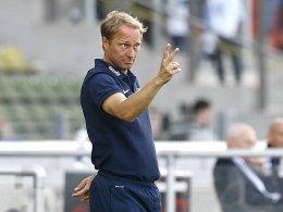 Saarbrücken-Coach Jürgen Luginger