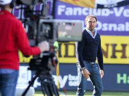Osnabrück-Coach Claus-Dieter Wollitz