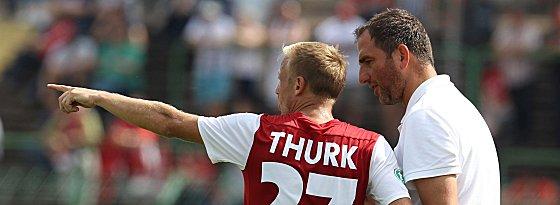 Michael Thurk und Frank Schmidt