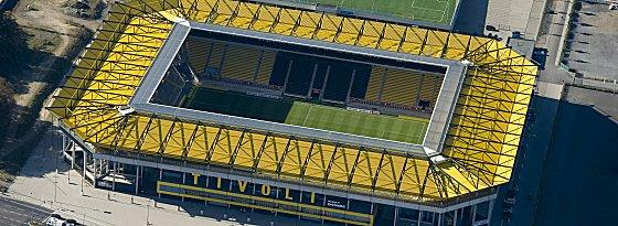 Die Schuldenlast drückt auf der Alemannia - das neue Tivoli-Stadion brachte kein Glück.