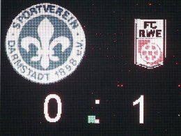 Darmstadt - Erfurt 0:1