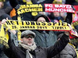 Rettungsspiel Alemannia Aachen gegen Bayern München