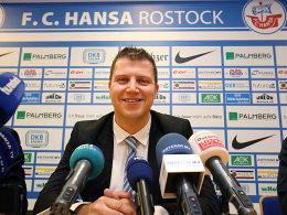 Michael Dahlmann, neuer Vorstandsvorsitzender von Hansa Rostock.